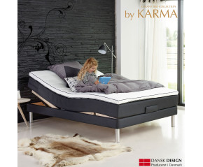 Kvalitet Elevationsseng by Karma 5 zone pocket fjedre